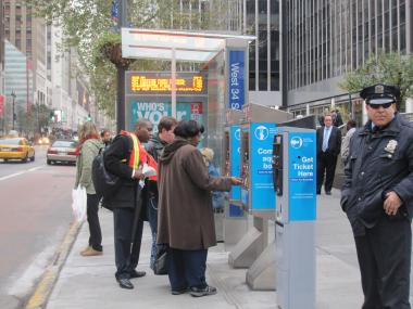 Select Bus Service is now operating on West 34th Street.