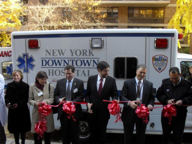 Downtown Hospital Gets New Ambulances Downtown New York Dnainfo