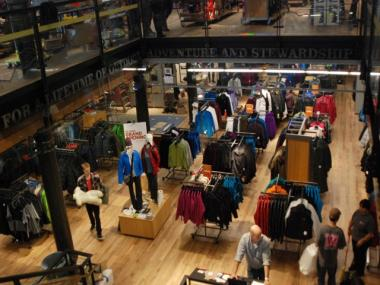 REI's 35,000-square-foot store at 303 Lafayette St., which is scheduled to open on Dec. 2, pays tribute to the building's more than 100-year history, DNAinfo saw on a sneak preview tour Monday, Nov. 21, 2011.