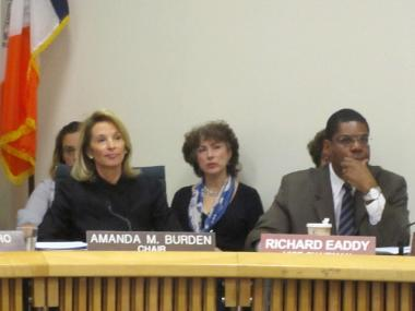 City Planning Commissioner Amanda Burden, shown Nov. 30, 2011, voted in support of NYU's expansion plan June 6, 2012.