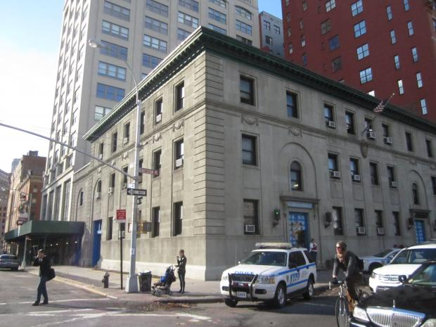 First Precinct stationhouse at 16 Ericsson Pl. in TriBeCa.