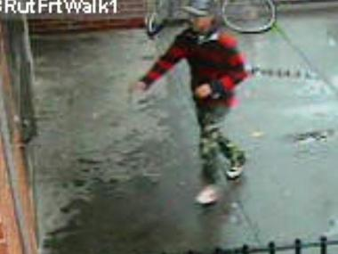 Police are looking for this man in connection with an attempted iPhone robbery at 54 Rutgers Street on Dec. 6, 2011.