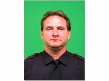 Officer Peter Figoski was killed in the line of duty in December.