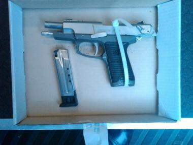 A silver 9mm Ruger semi-automatic pistol was recovered near the scene, Police Commissioner Ray Kelly said.
