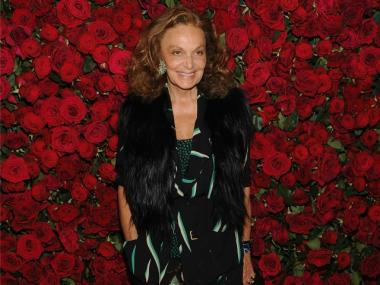 "Designer Diane Von Furstenberg attends the Museum of Modern Art's 4th Annual Film benefit ""A Tribute to Pedro Almodovar"" at the Museum of Modern Art on Nov. 15, 2011."