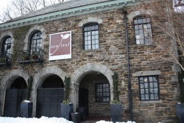 The New Leaf Cafe, founded by Bette Midler, is located in the center of Fort Tryon Park. The venue will close on Dec. 29, 2014.