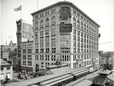 R.H. Macy Co. Store was home to Macy's before it moved to 34th Street.