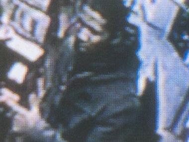 Police are looking for this man in connection with a robbery at Vital Video on Christopher Street on Dec. 19, 2011.