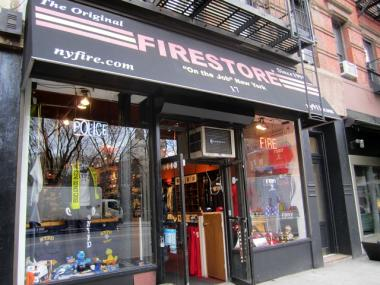 Firestore is located at 17 Greenwich Ave. in Greenwich Village.