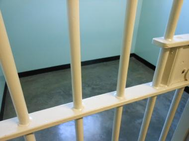 A man was found hanged inside a jail cell in Midtown after allegedly assaulting his wife on Dec. 31, 2011, police said.