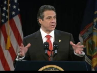 Gov. Andrew Cuomo announced a teacher evaluation deal Thursday.