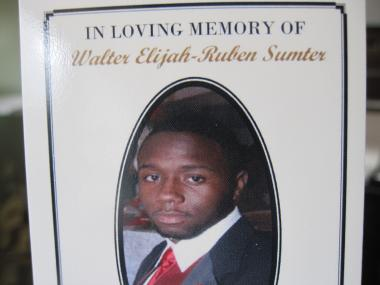 Walter Sumter, 18, was shot in the chest and killed on Friday, Dec. 30.