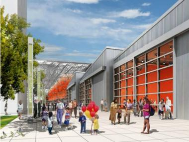 The Javits Center has been undergoing renovations to modernize and expand.