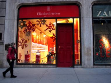Elizabeth Arden's flagship Red Door Spa opened inside the Aeolian Building in 1930. It has been there ever since.