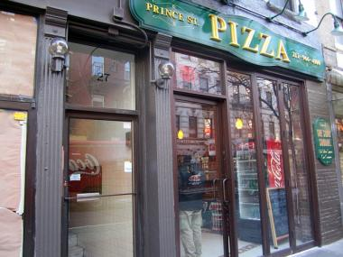 The pizza joint opened at 27 Prince St. on Jan. 4, 2012.