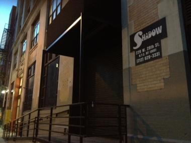 A man man was stabbed and hit in the head with a bottle at The Shadow nightclub on West 28th Street early Sat., Jan. 7, 2012, authorities said.
