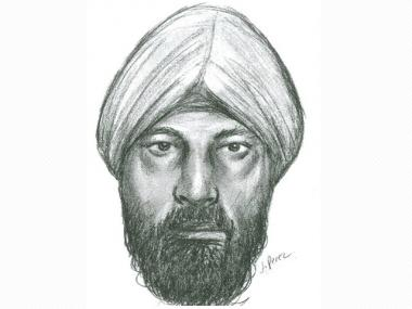 Police released a sketch after a woman was raped in May. A suspect has been arrested.
