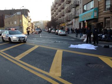 Leopoldo Hernandez was on his way to work when he was struck by multiple vehicles at 180 Borinquen Place in Brooklyn.