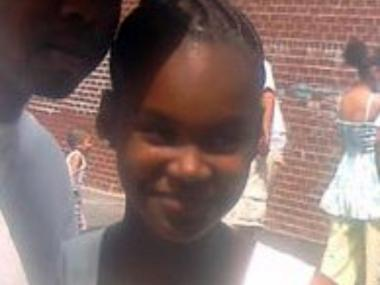 Dashane Santana, 12, was struck by a car and killed on Delancey Street Fri., Jan. 13, 2012.