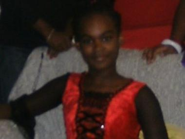 Dashane Santana, 12, was struck by a car and killed on Delancey Street Friday, Jan. 13, 2012.
