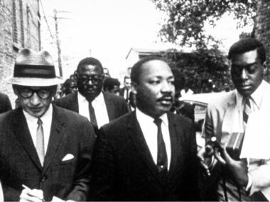 Civil rights leader Martin Luther King Jr.