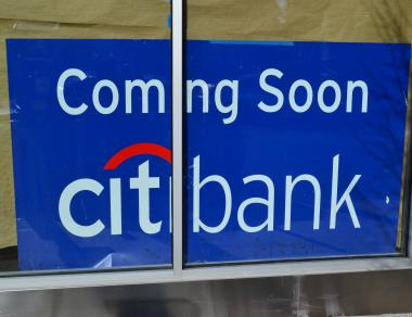 A Citibank is set to open soon at Columbus Avenue and West 86th Street, raising alarm by some in the area who think there are too many banks.