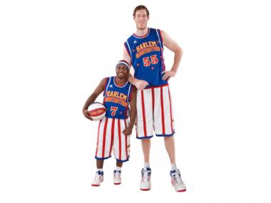 Tallest Globetrotter Paul