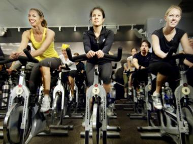 A soul cycle class. SoulCycle will be adding a new location on East 63rd Street in the former Barbizon Hotel.