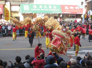There will be lots of street closures in Chinatown on Sunday during the annual Lunar New Year Parade.