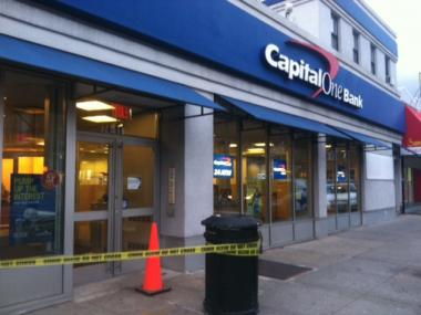 A Capital One Bank on Metropolitan Avenue in Queens.