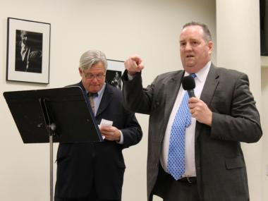 SLA Deputy CEO Michael Jones discussed his agency's 'mistakes' at a forum on nightlife in Hell's Kitchen on Jan. 19, 2012.