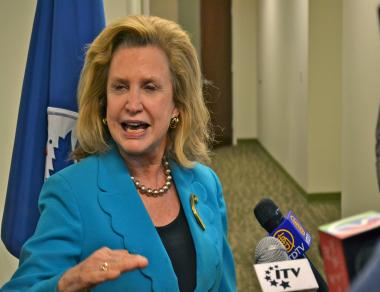 Rep. Carolyn Maloney will be the 12th District's democratic nominee for Congress in November.