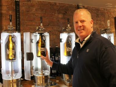 John O'Connell and five friends and business partners started the to-go craft beer store.