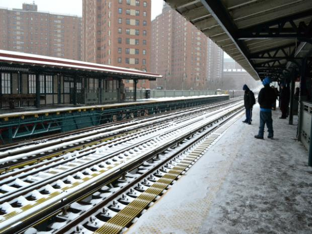 The National Weather Service issued a blizzard warning for New York City.