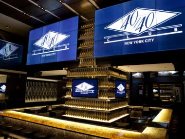 The 40/40 Club recently reopened after a $10 million renovation.