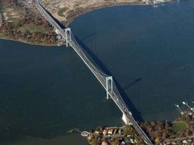 The Bronx-Whitestone Bridge was clogged after an accident on the Hutchinson River Parkway on Jan. 23, 2012.