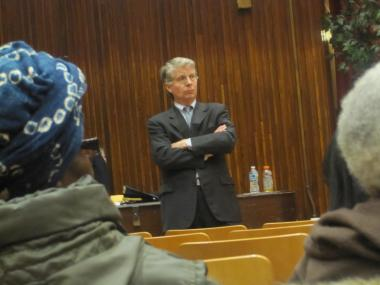 "An anonymous letter pleading for help in breaking the grip the $1 million per year ""Kings of Dust"" PCP drug ring had on the Milbank Frawley Houses in East Harlem helped spur a 15-month investigation that led to the indictment of 35 people,  Manhattan District Attorney Cyrus Vance Jr. told a group of community leaders Monday night."