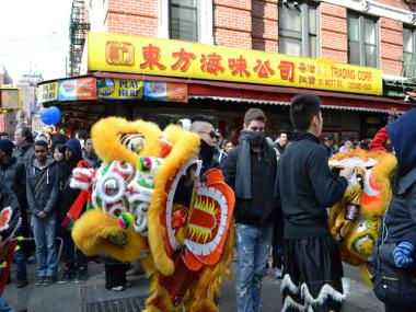 Chinatown hosted its annual Lunar New Year parade on Sunday, Jan. 29 2012.