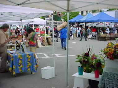 Community Markets has 19 farmer's markets in New York City, Westchester, and Rockland County.