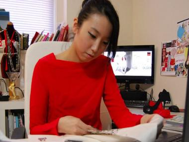 Louboutin contest winner Hyeyoung Kim started her own line after graduating from Parsons The New School for Design.
