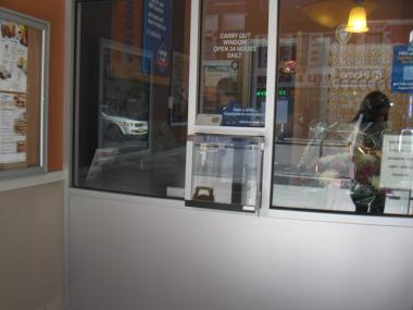 The 24-hour takeout window at the new East Harlem IHOP has upset some community leaders.