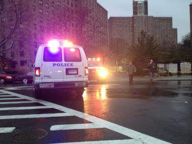 Someone repeatedly summoned police to the Bushwick Houses with calls of officers down, all of which were unfounded. An officer was shot near the housing complex in January 2012.