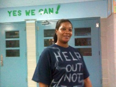 Oyedele Oyedakin, IS 296 PTA president, said her school needed another chance and more parent involvement.