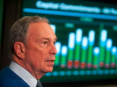 Mayor Michael Bloomberg presents his preliminary budget for the 2013 fiscal year at City Hall.