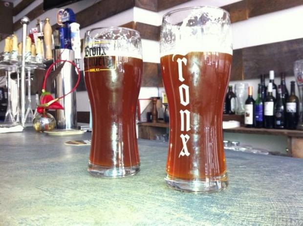 A pair of beer-makers based in Mott Haven launched thier second brew this week--the Bronx Rye Pale Ale.