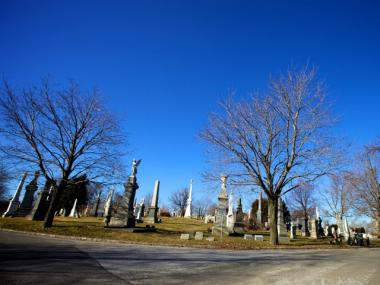 The All Faiths Cemetery in Middle Village was slapped with a $600 fine by the NY City Health Department for having stagnant water in graveside flower pots and vases.