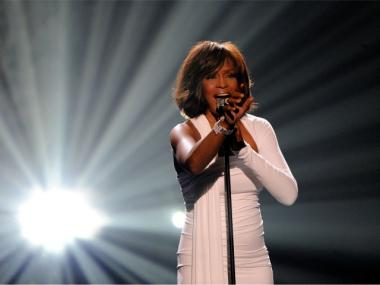 Whitney Houston, shown performing at the 2009 American Music Awards, died Saturday, Feb. 11, 2012, at the age of 48.