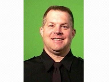 Det. Kevin Herlihy, who was shot by a gunman at the 145th Street and St. Nicholas Avenue subway station on Feb. 14, 2012.