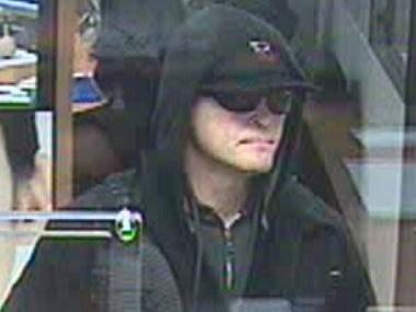 The FBI said this man is wanted for four Greenwich Village bank robberies.