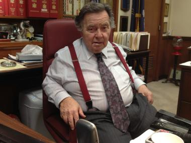 Queens District Attorney Richard Brown at his Kew Gardens office.